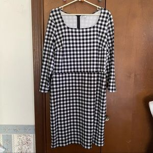 Old Navy Black and White Dress XL